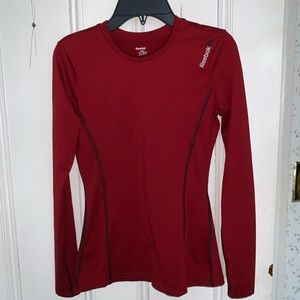 Reebok warm weather long sleeved liner shirt small